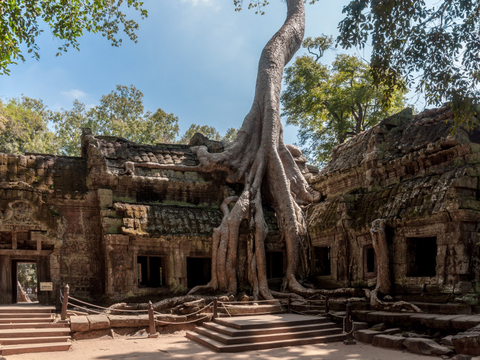 Tha Prom Temple at Angkor Wat - Photo by CEphoto, Uwe Aranas via Wikipedia